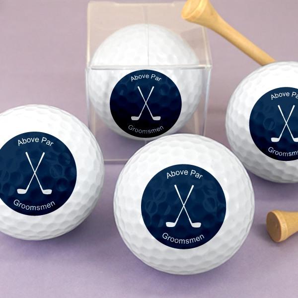 Personalized Golf Balls