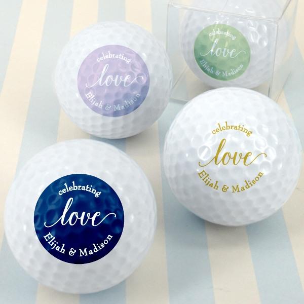Personalized Wedding Golf Balls 1369
