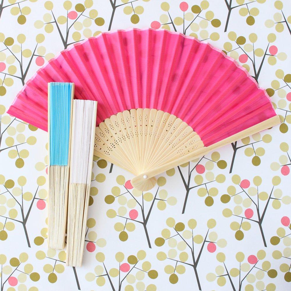Asian Silk Hand Fans 1454