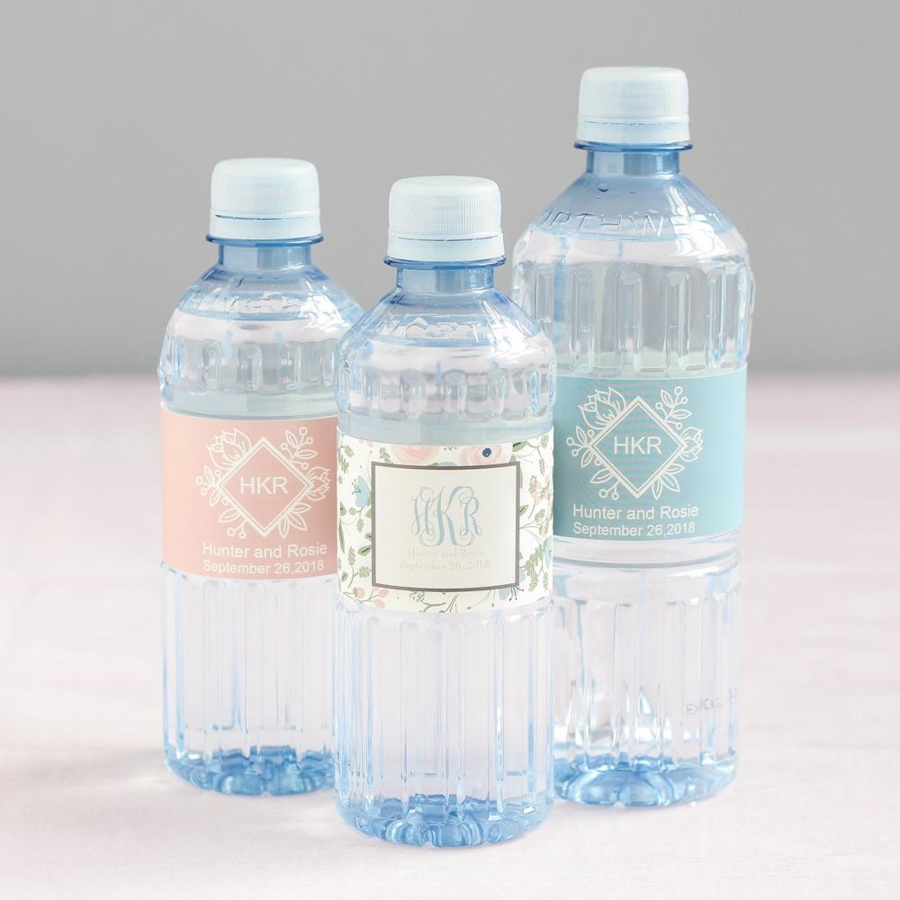 Personalized Wedding Water Bottle