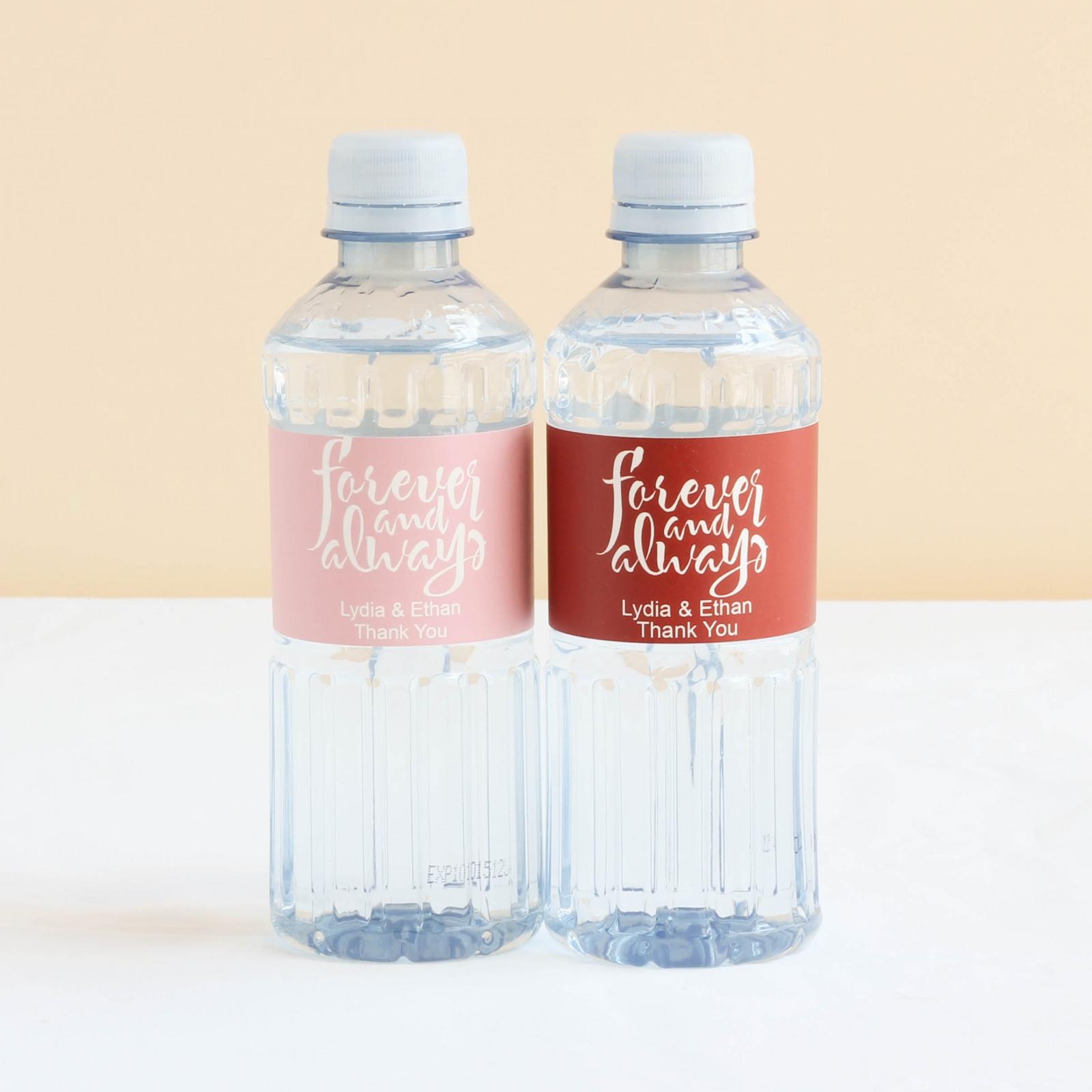 Custom Forever Always Bottled Water