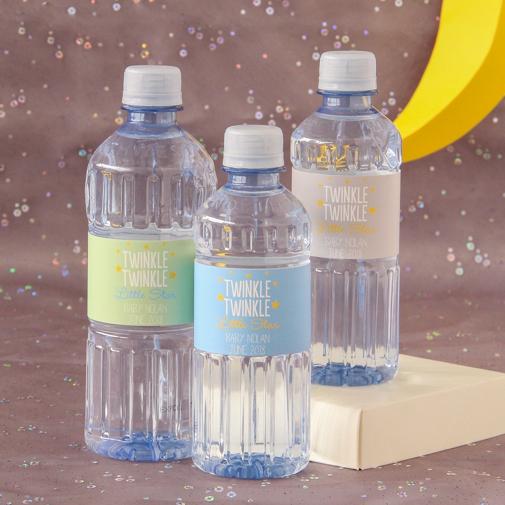 Personalized Baby Shower Water Bottles