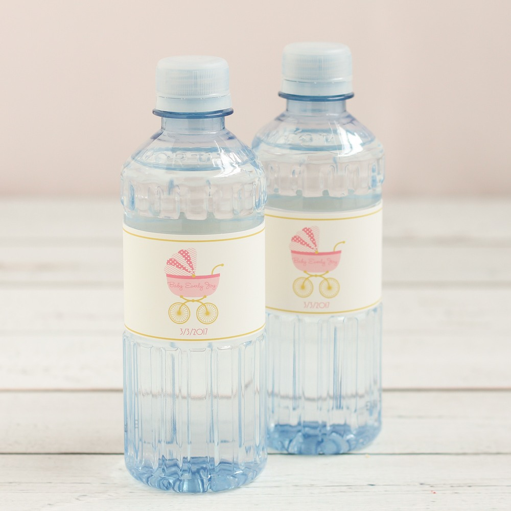 Personalized Carriage Bottled Water