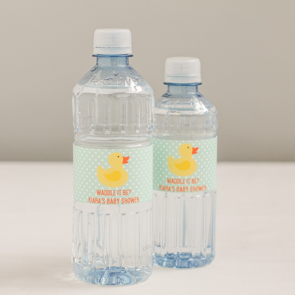 Personalized Duck Bottled Water