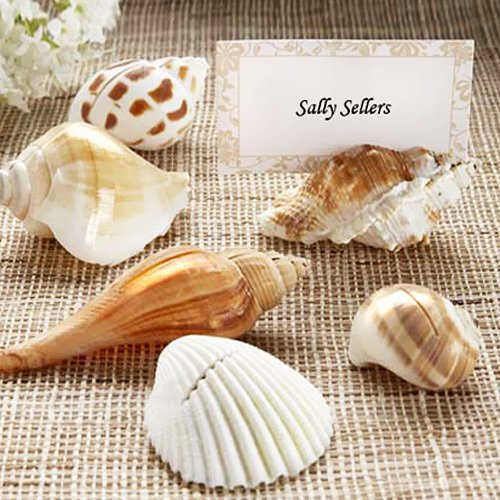 Natural Seashell Place Card Holders 1480
