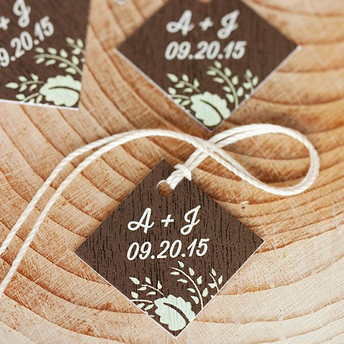 Personalized Wedding Tags