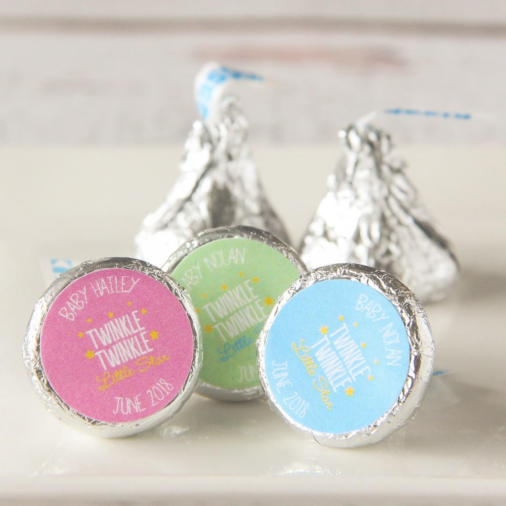 Personalized Baby Shower Hershey'S Kisses 1496