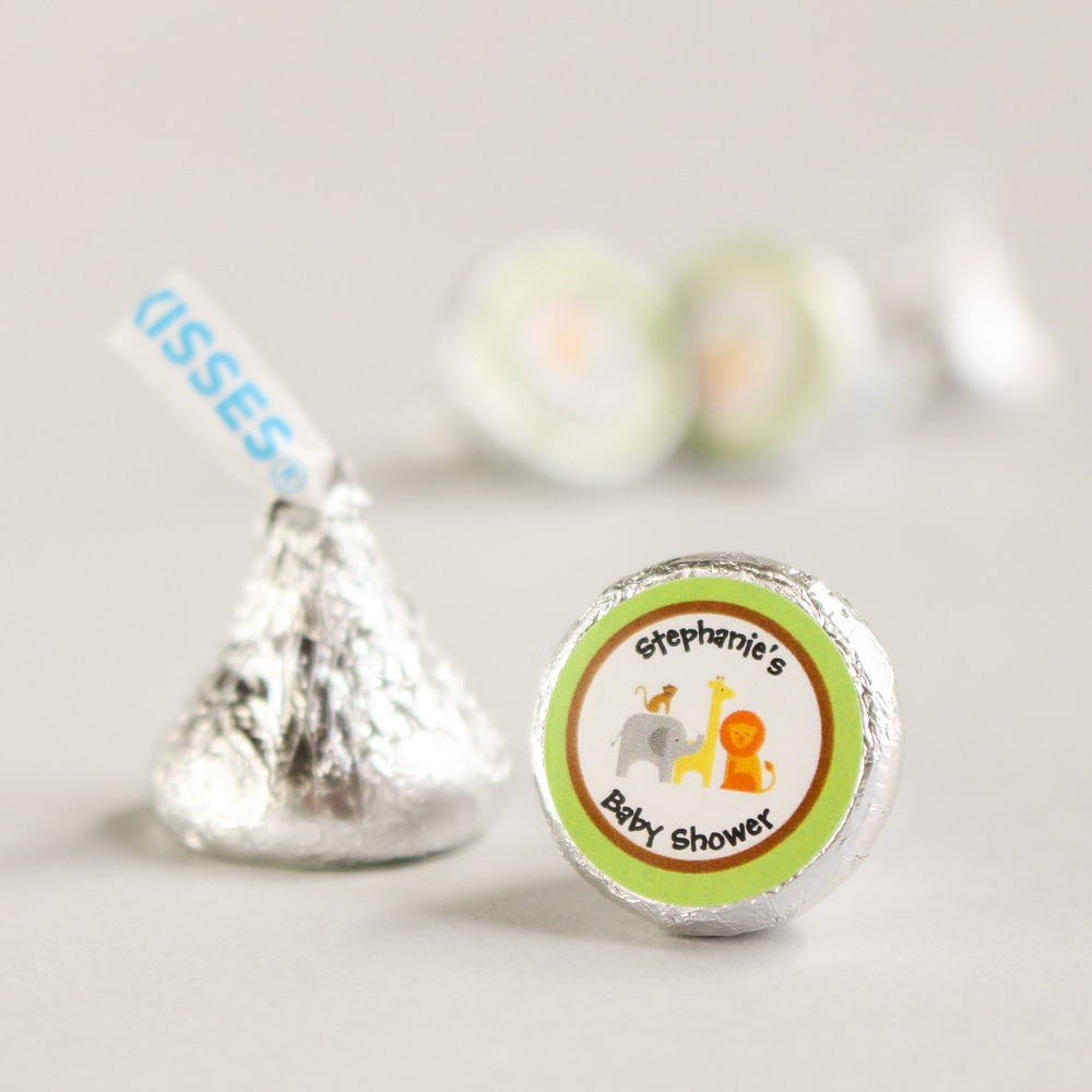 Personalized Safari Hershey's Kisses