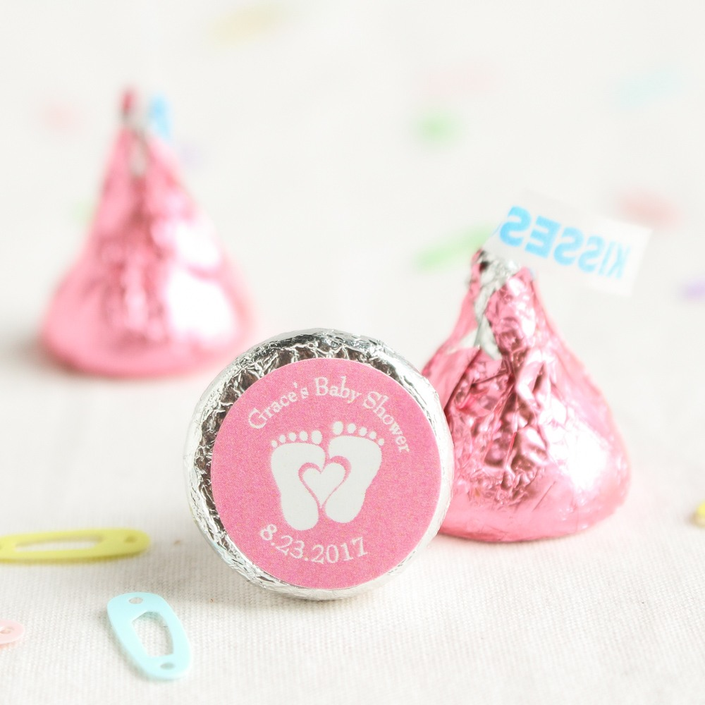 Personalized Baby Feet Hershey's Kisses