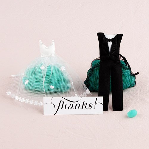 Bride and Groom Favors