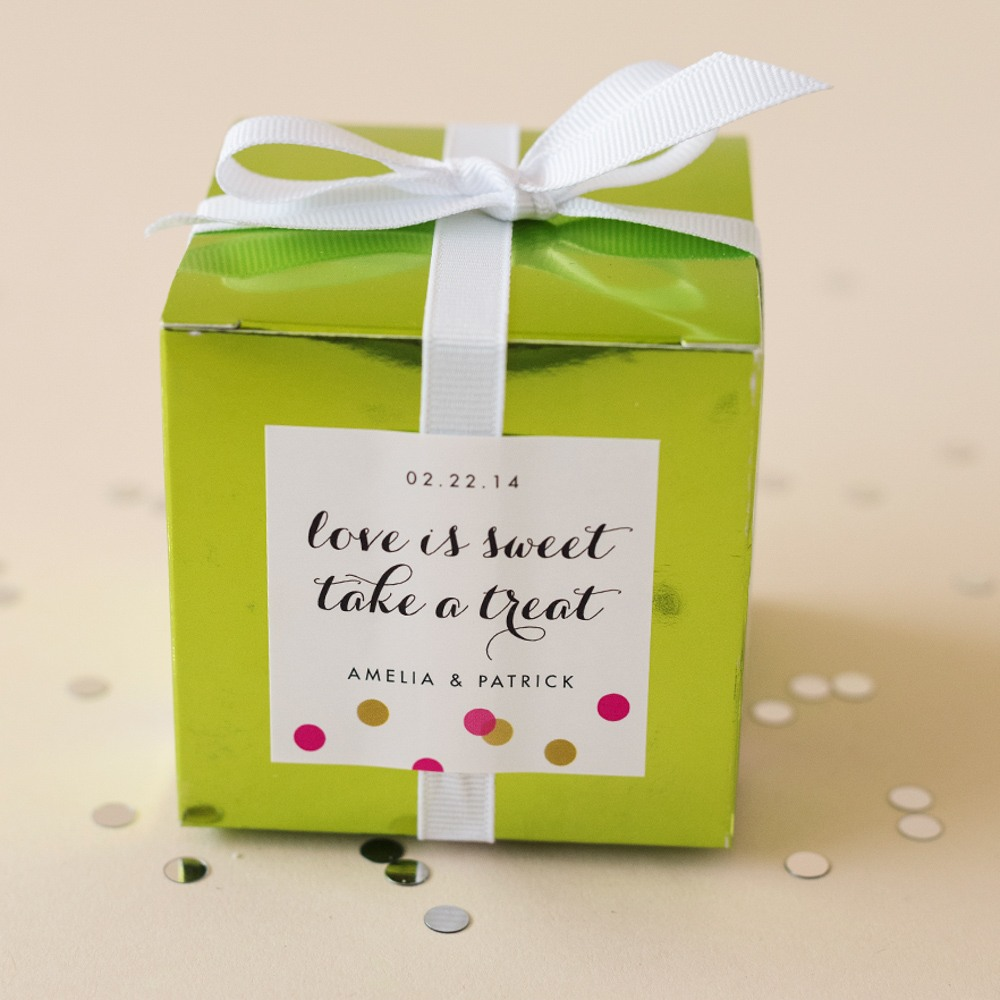 Personalized Square Labels