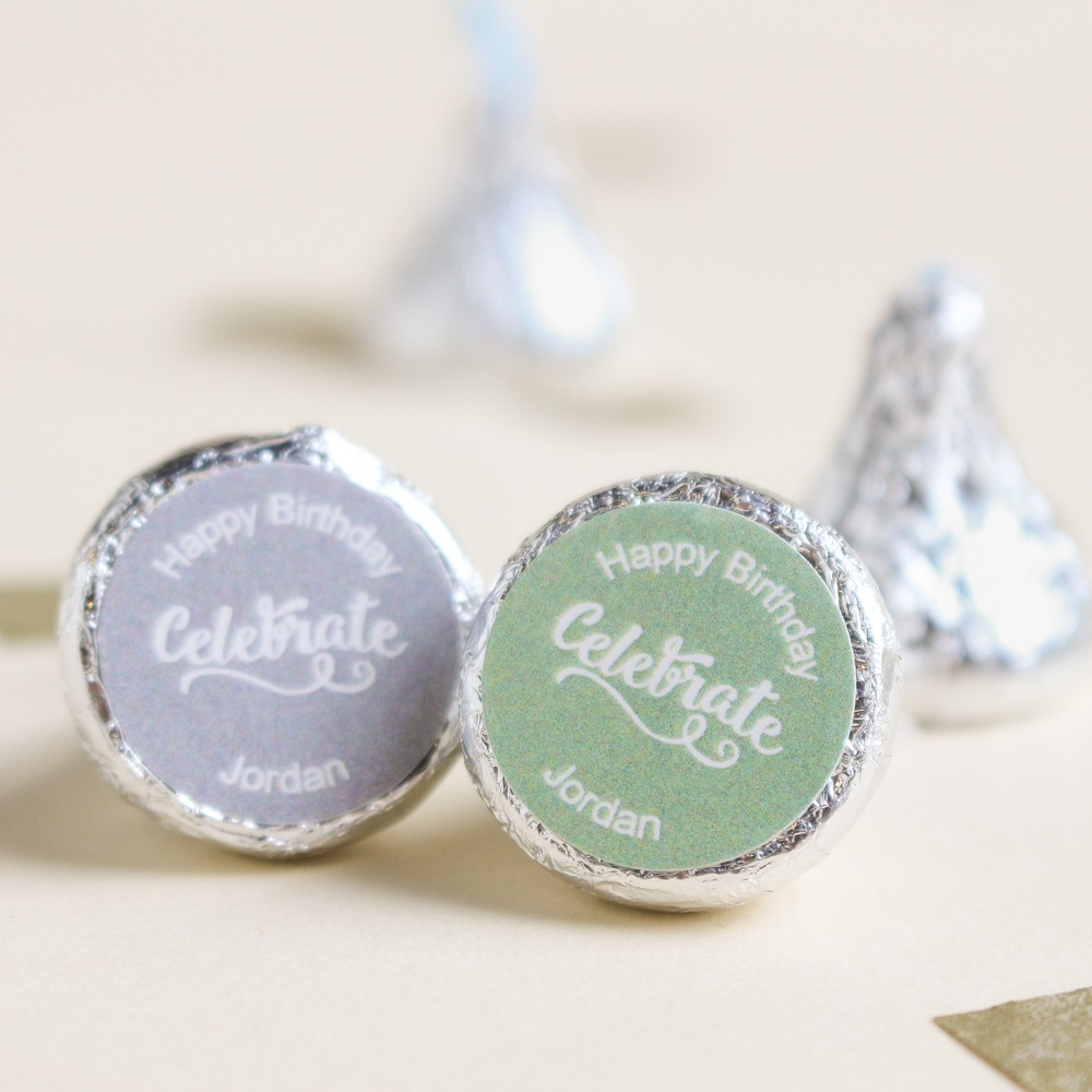 Personalized Birthday Hershey'S Kisses 1650