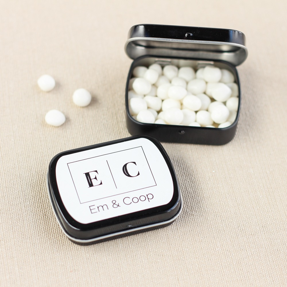 Corporate Logo Mint Tins