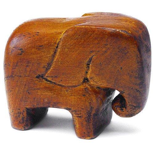 Good Luck Wooden Elephant Favors