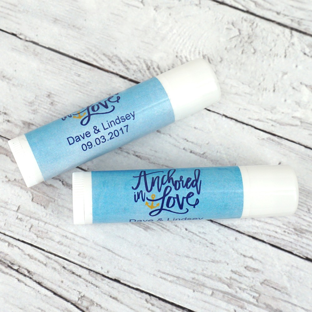 Personalized Lip Balm Party Favor 2052