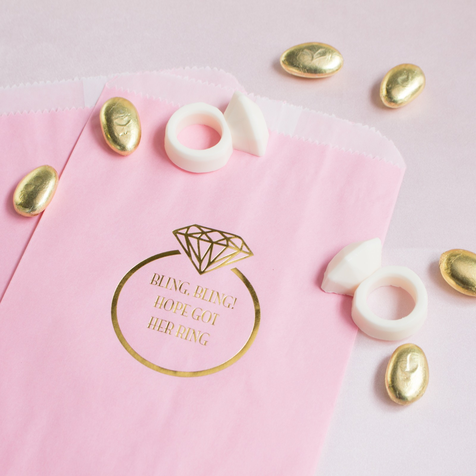 Personalized Ring Sweets 'n Treats Bag