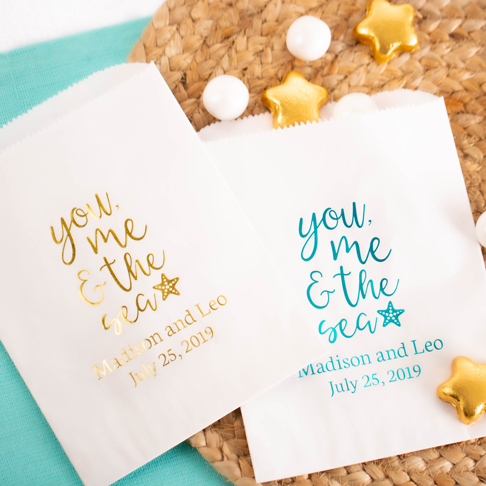 Personalized You Me & the Sea Sweets 'n Treats Bag