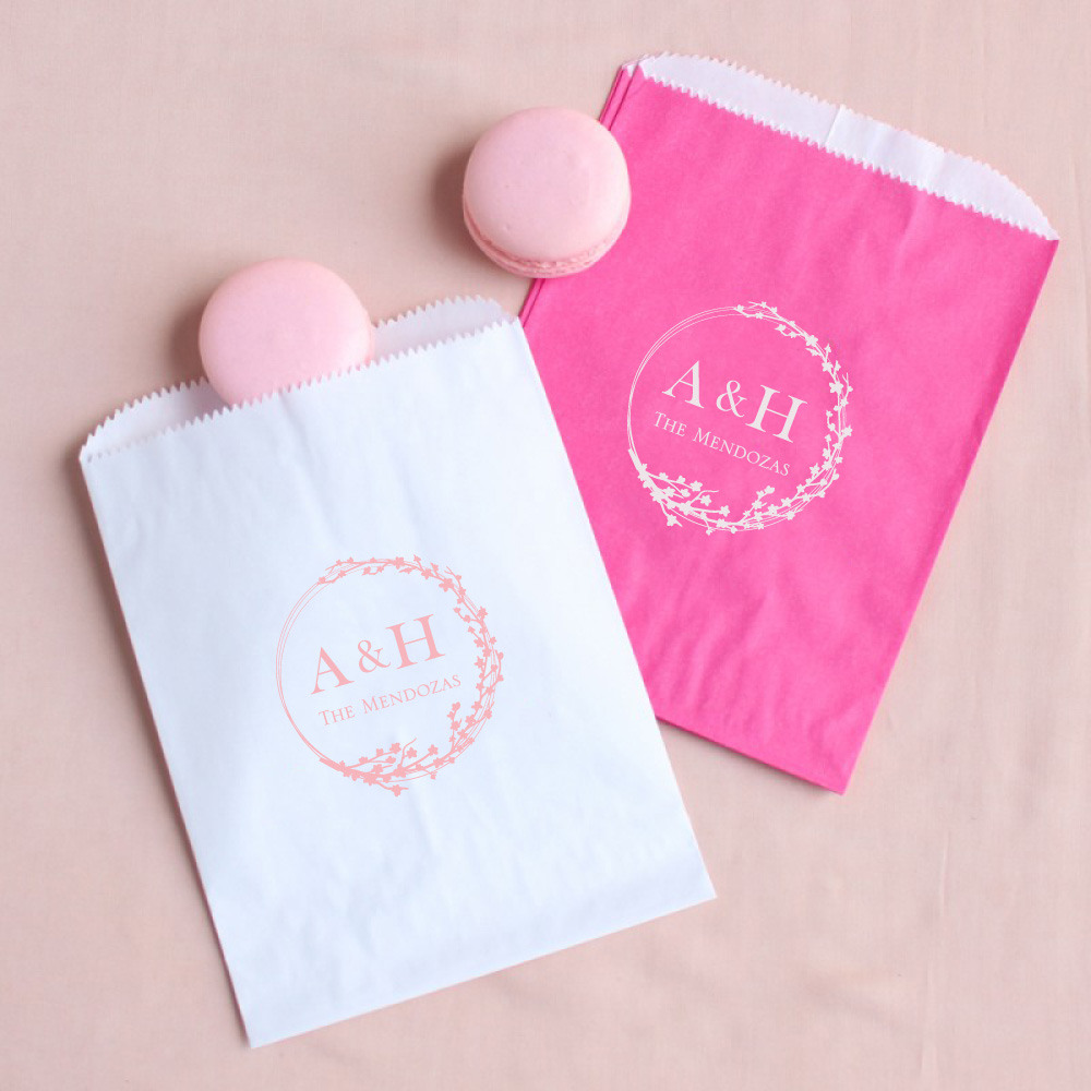 Personalized Cherry Blossom Sweets 'n Treats Bag