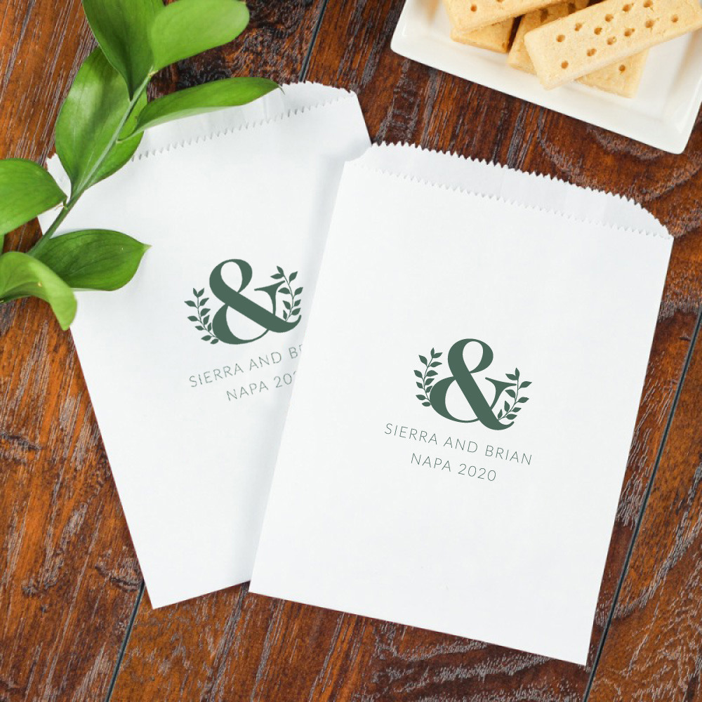 Personalized Eco Ampersand Sweets 'n Treats Bag