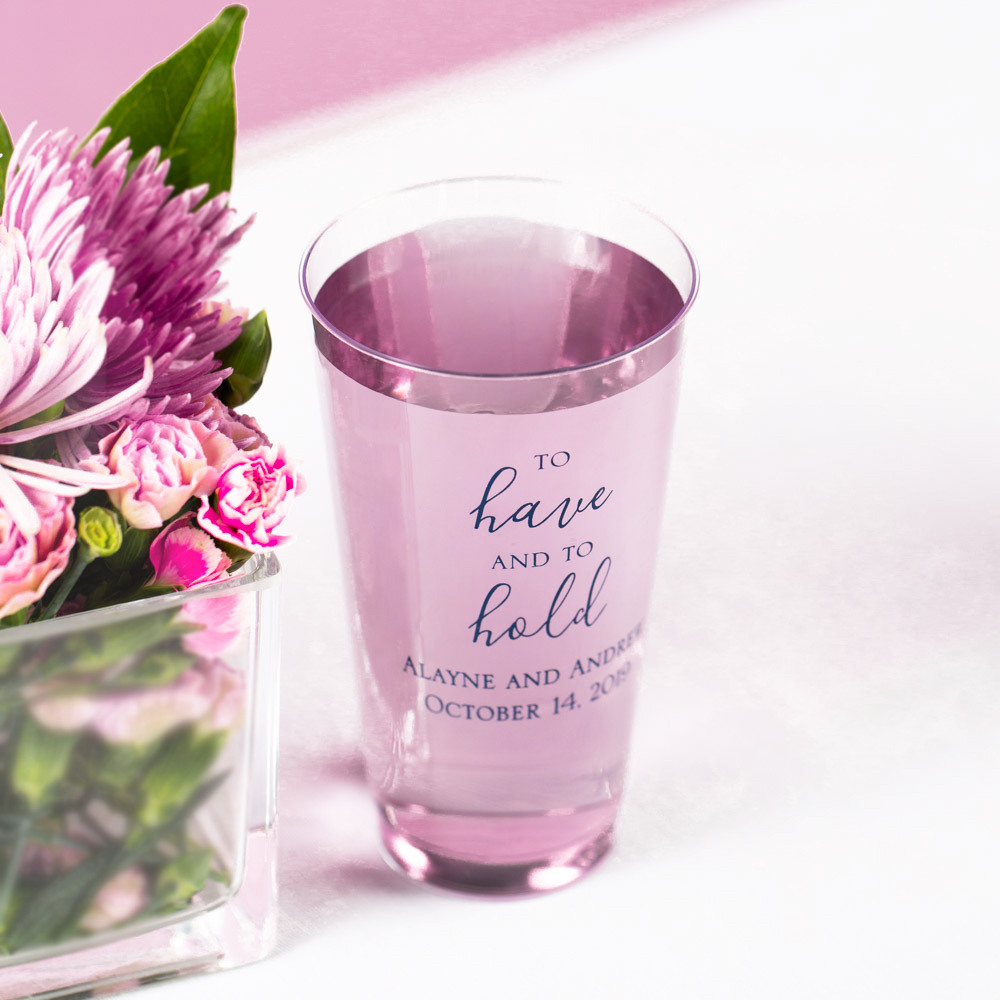Personalized Clear Plastic Cups 2058