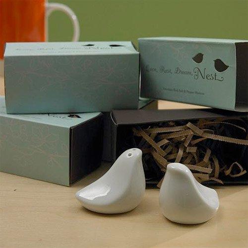 Love Birds Salt and Pepper Shakers Favor