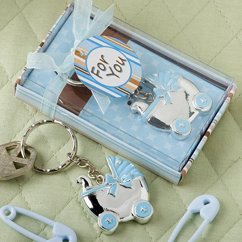Baby Carriage Key Chain Favor 2224