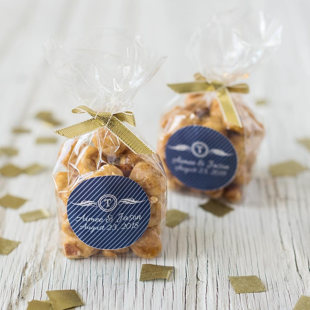 Personalized Nut Favor