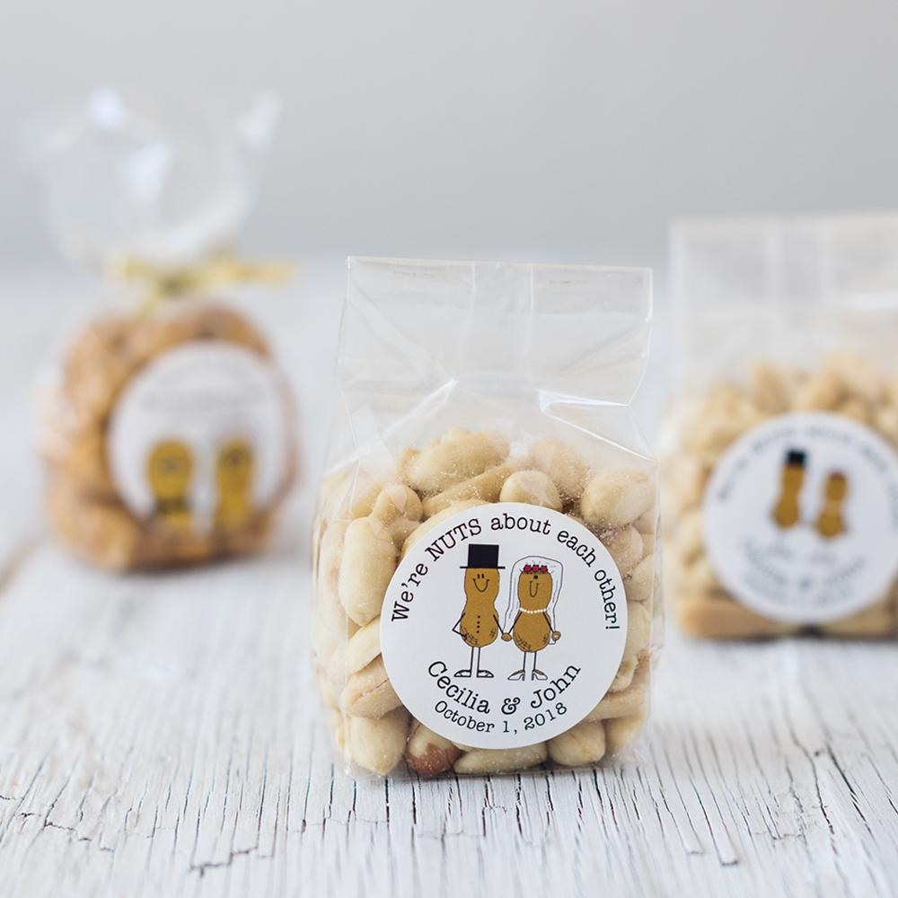 Personalized Nuts Favor 2348