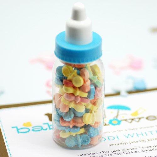 Mini Plastic Baby Bottles 2349
