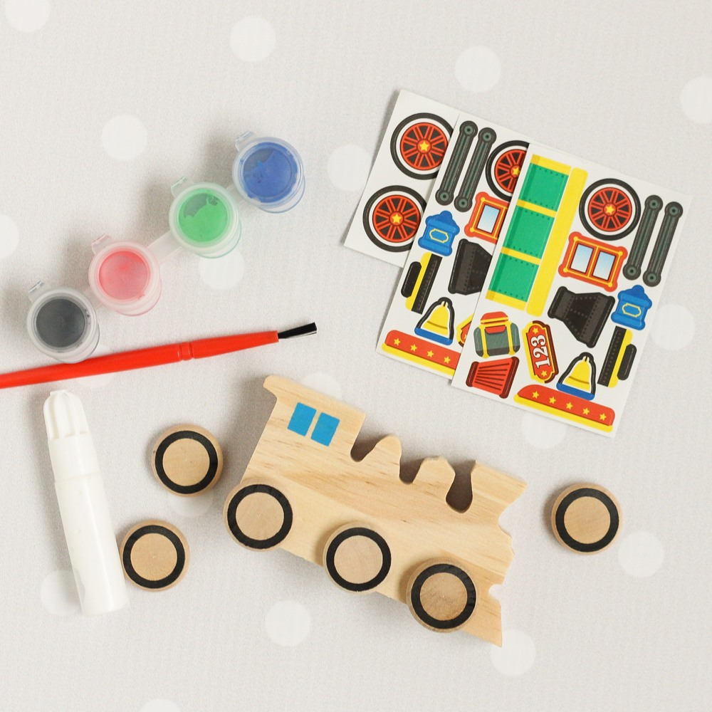 Decorate Your Own Train Party Favor 2367