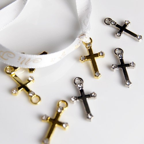 Mini Cross Charms 2468