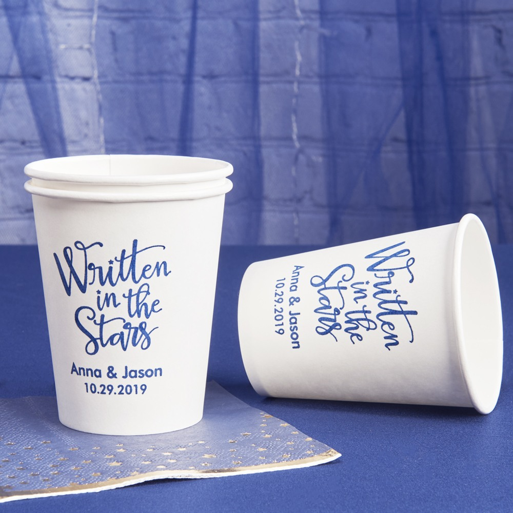 Personalized Wedding Paper Cups 2515