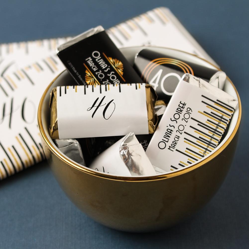 Personalized Milestone Hershey's Miniatures