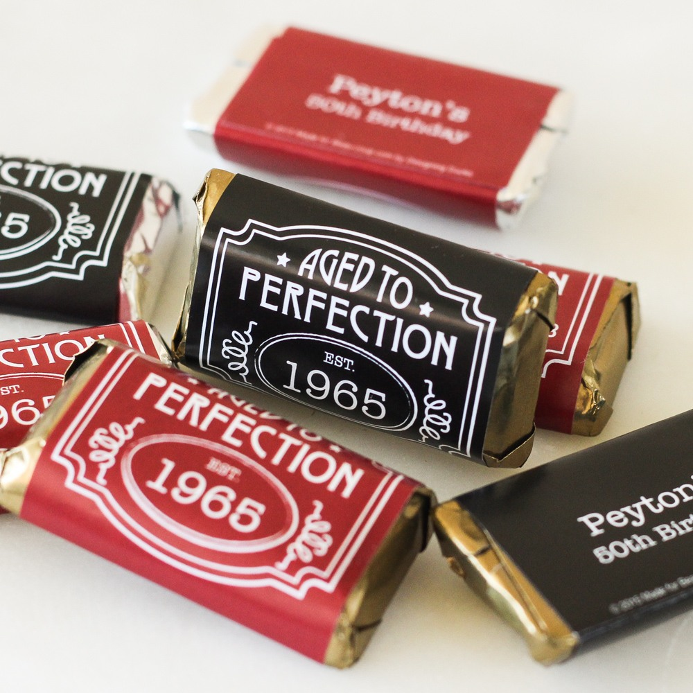 Personalized Aged to Perfection Miniatures