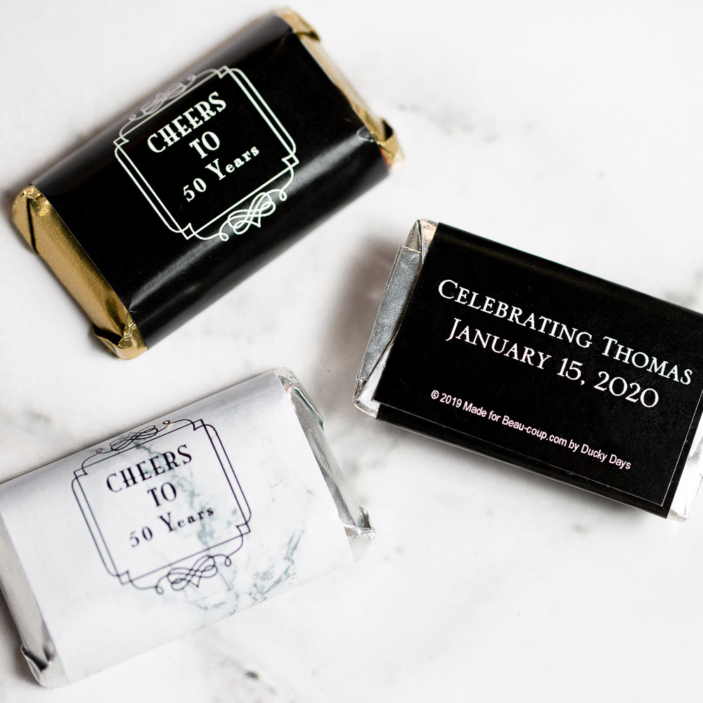 Personalized Birthday Hershey'S Miniatures 2522