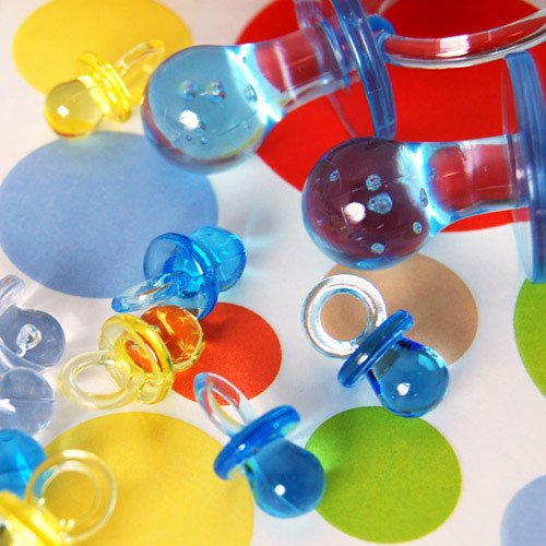 Small Plastic Pacifiers 2528