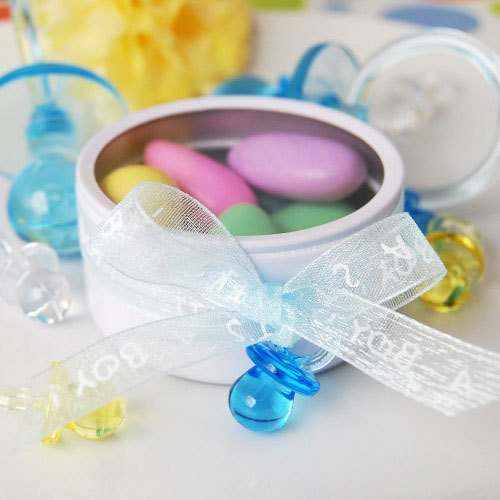Blue Small Plastic Pacifiers