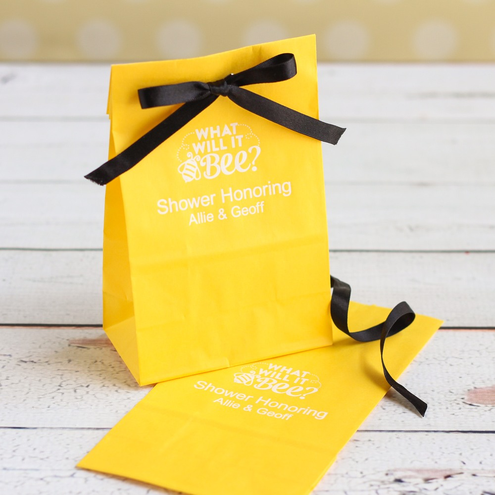 Personalized Bee Goodie Bag