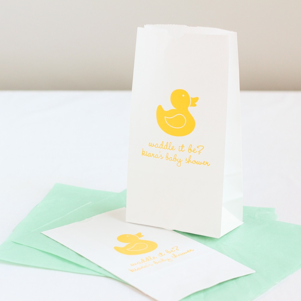 Personalized Duck Goodie Bags