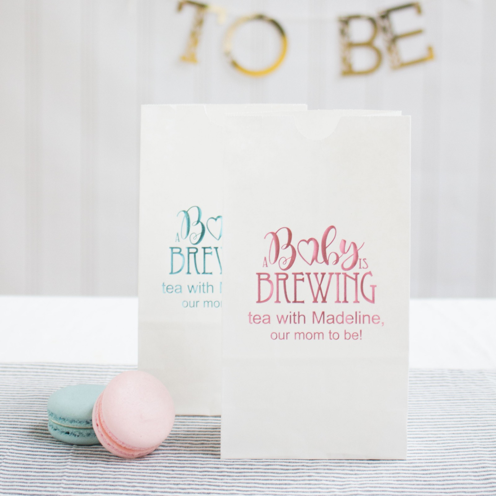 Personalized Baby Shower Goodie Bags 2695