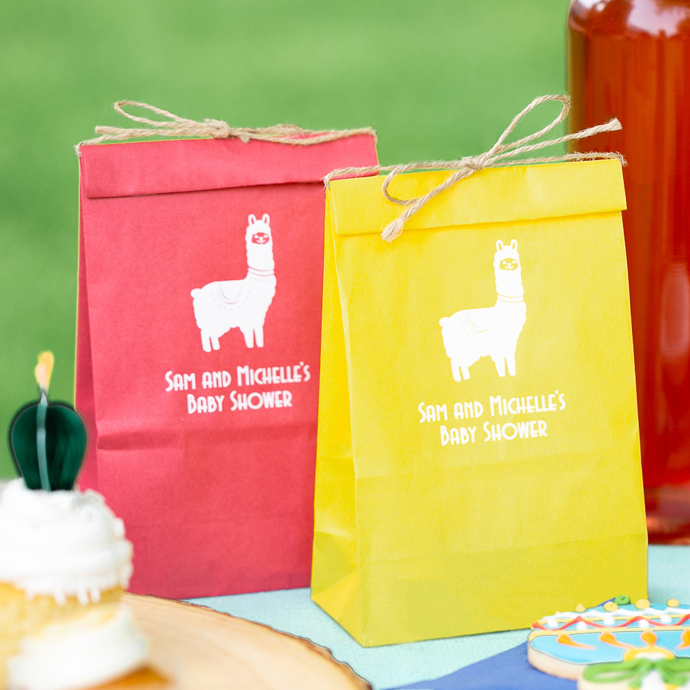 Personalized Fiesta Baby Shower Goodie Bags