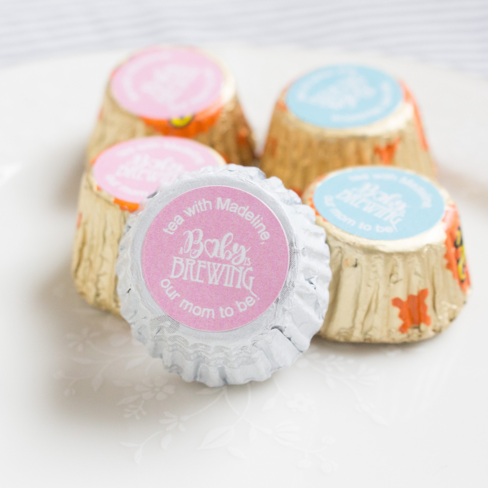 Personalized Baby Shower Reese'S Peanut Butter Cups 2851