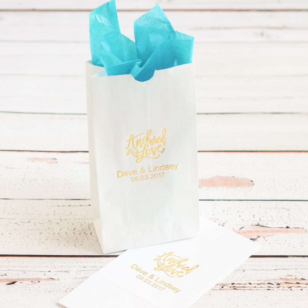 Personalized Bridal Goodie Bag