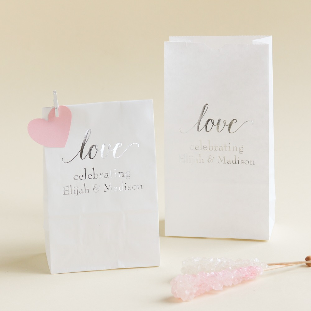 Personalized Love Bridal Goodie Bag