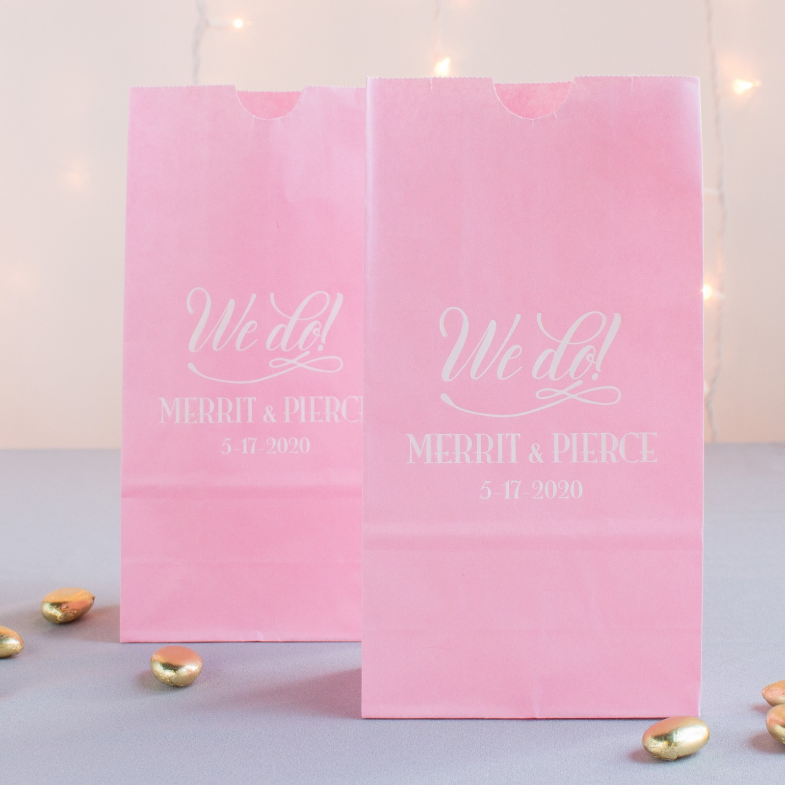 Personalized We Do Goodie Bag