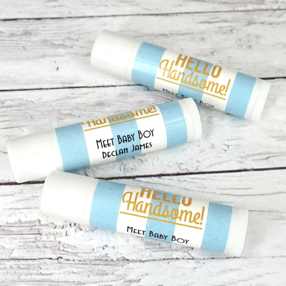 Hello Handsome Personalized Lip Balm