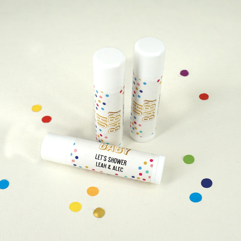 Oh Baby Personalized Lip Balm