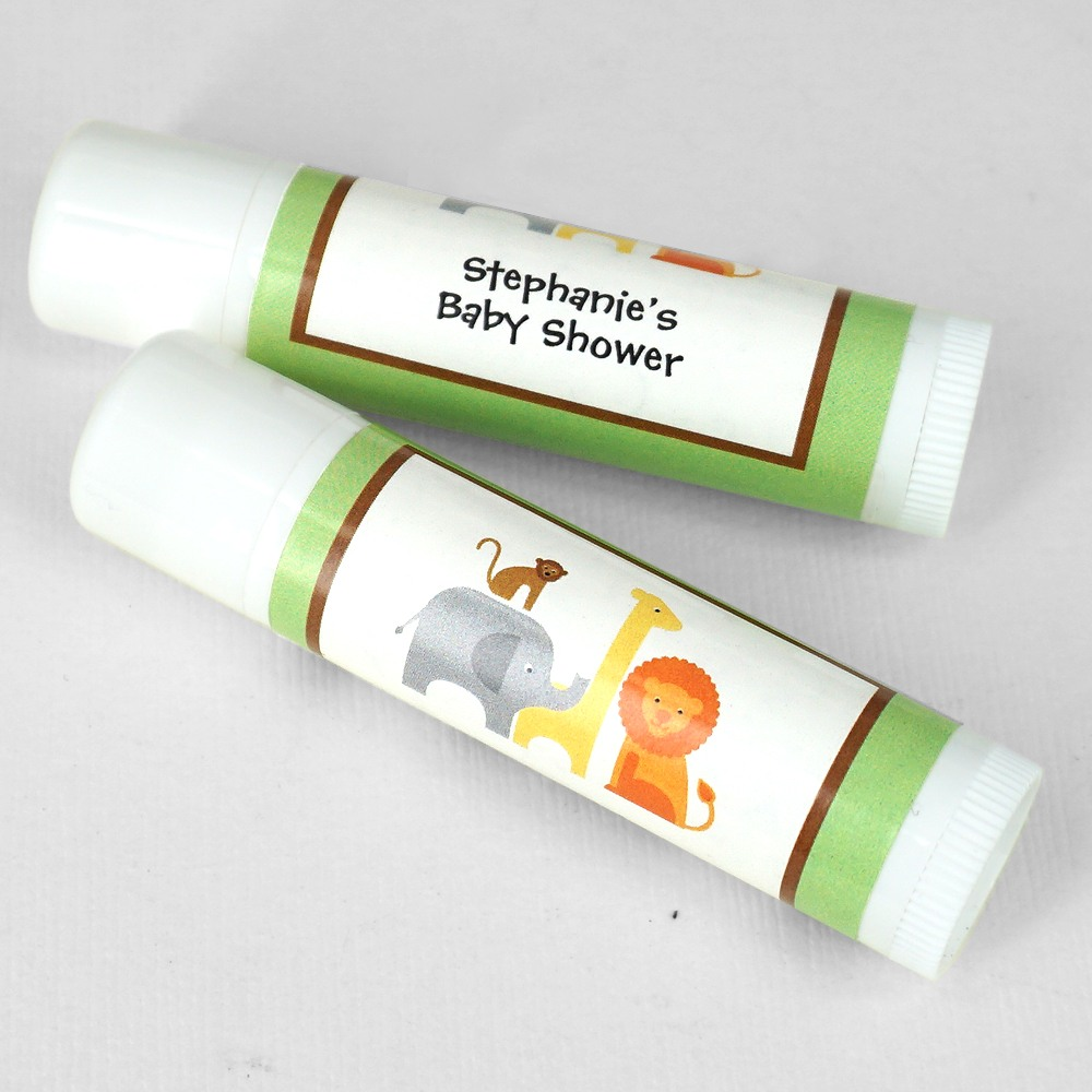 Safari Personalized Lip Balm