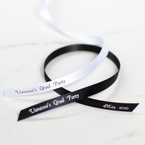 Personalized Favor Ribbon Graduation