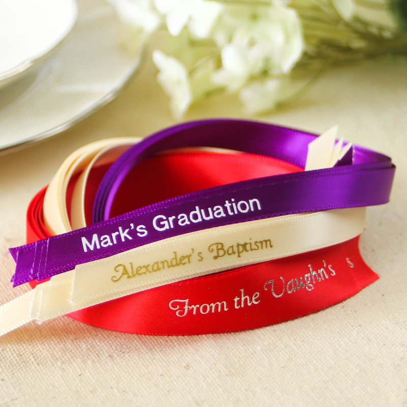 Personalized Favor Ribbon 3575